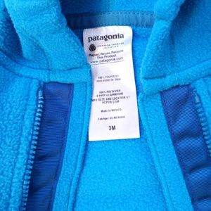 Patagonia One Pieces - 🌀 NWOT Patagonia Baby Fleece Synchilla Bunting